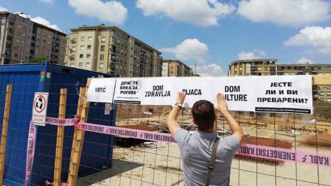 Spontani protesti u naselju Stepa Stepanović 1