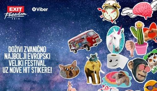 EXIT proslavlja 18. rođendan uz besplatne Viber stikere 15