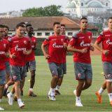 Fudbaleri Zvezde spremni za sutrašnji meč protiv Spartaksa 1