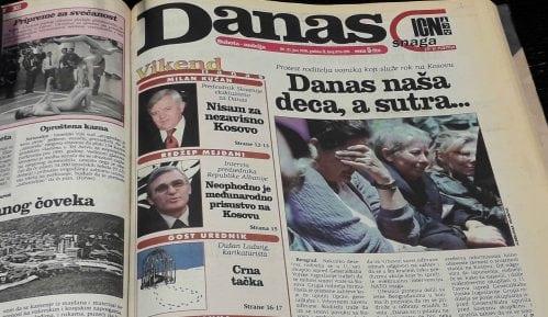 Danas (1998): Kosovski čvor i nemačka upornost 3
