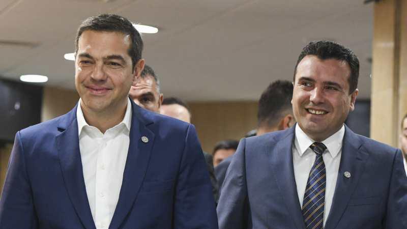Zaev i Cipras u Skoplju razgovarali o koristi od Prespanskog dogovora 1