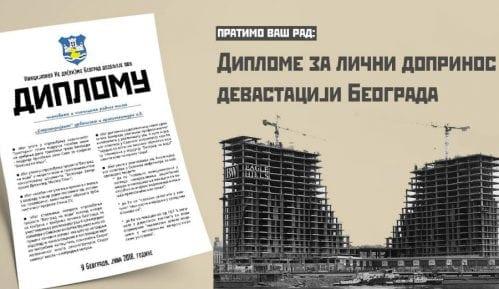 Diplome za lični doprinos devastaciji Beograda 8
