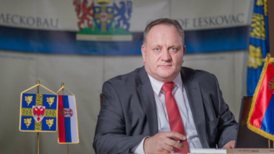 Leskovac: Cvetanović proslavio deset godina od imenovanja prvog gradonačenika 1