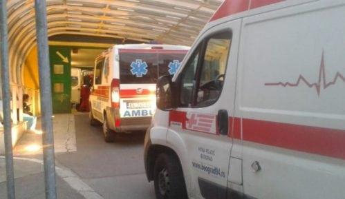 GSP: U večerašnjoj saobraćajnoj nezgodi u Bloku 45 povređen pešak 3