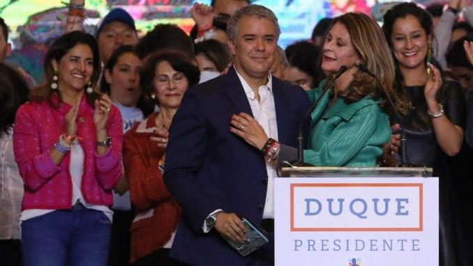 Ivan Duke pobedio na izborima u Kolumbiji 1