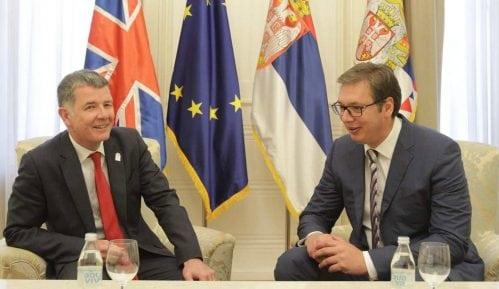 Vučić sa ministrom spoljnih poslova UK o situaciji u regionu 6