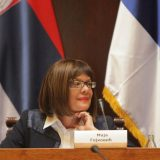 Gojković pozvala sve političke partije da učestvuju u raspravi o Tijaninom zakonu 10