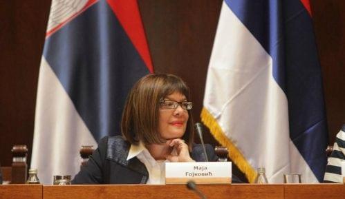 Gojković pozvala sve političke partije da učestvuju u raspravi o Tijaninom zakonu 3