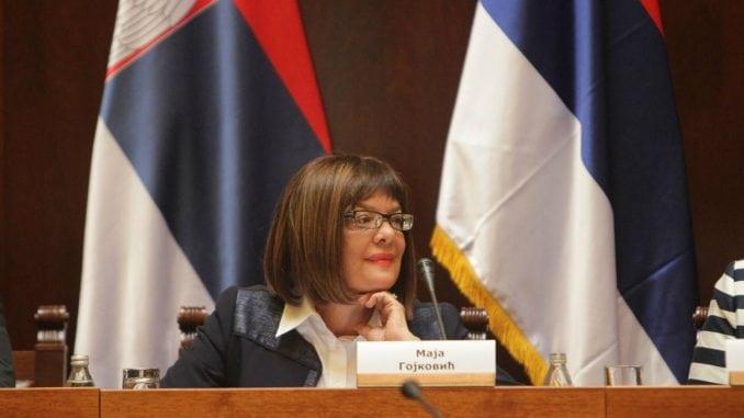 Gojković: Već šest godina važi zabrana unošenja i služenja alkohola u parlamentu 1
