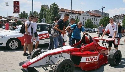 Auto trka Velika nagrada Novog Sada na Mišeluku 4