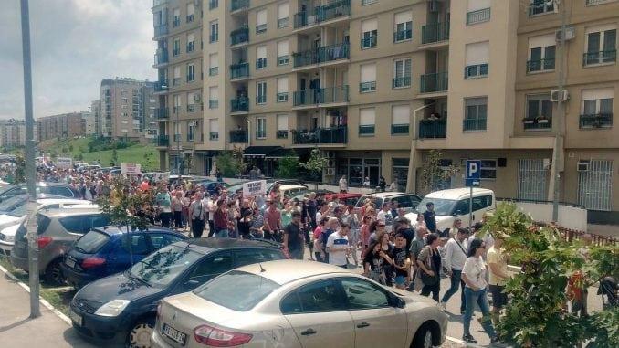 Protest stanara naselja Stepa Stepanović 1