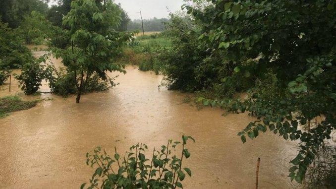 Poplava u Krupnju, zatvorena škola 1
