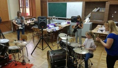 Završni koncert Rok kampa za devojčice 1. jula 8