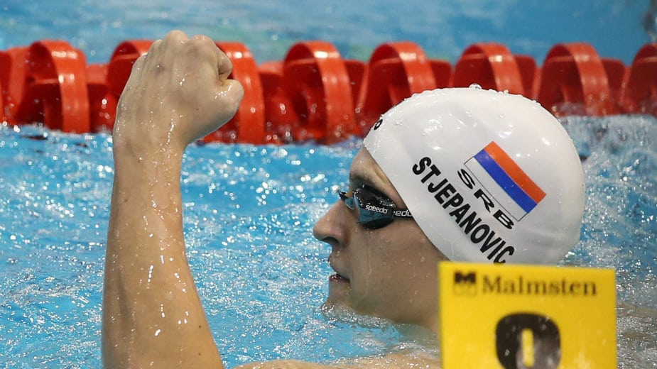 Stjepanović u finalu EP na 200 metara slobodnim stilom 1