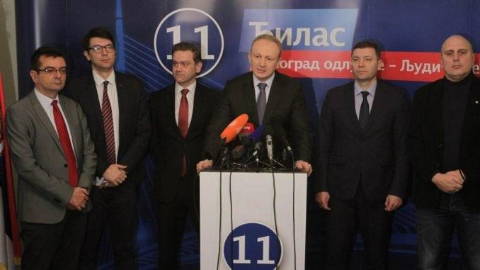 U sredu novi sastanak budućih članica Saveza za Srbiju 1