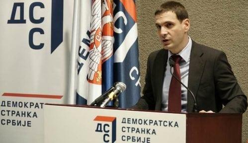 Predsednik DSS prvi put sa liderima Saveza za Srbiju 5