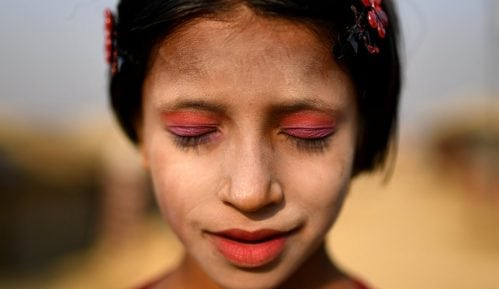 Unikatna šminka devojčica i žena Rohingja muslimana 10