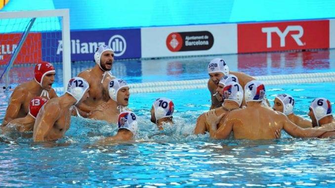 Srpski vaterpolisti bez plasmana u polufinale Svetskog prvenstva 1