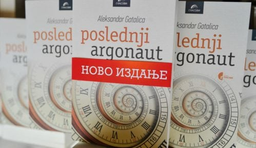 Predstavljen novi roman Aleksandra Gatalice 12