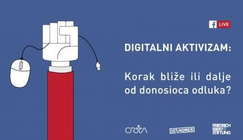 """Istinomer forum """"Digitalna demokratija - korak bliže ili dalje od donosioca odluka?"""" (LIVE STREAM) 10"""