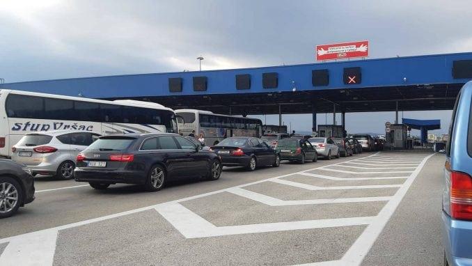 Pojačan saobraćaj ka Makedoniji i Bugarskoj, kao i na putevima ka jadranskoj obali 1