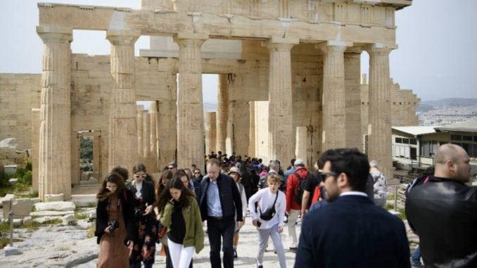 Akropolj zatvoren na nekoliko sati zbog toplotnog talasa 1