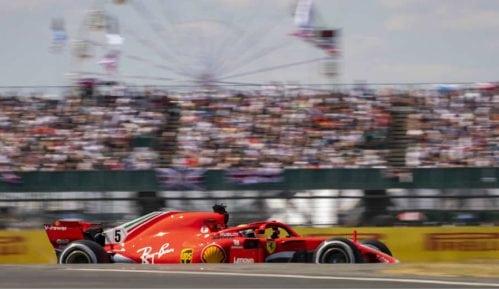 F1: Fetel najbrži na Silverstonu 8