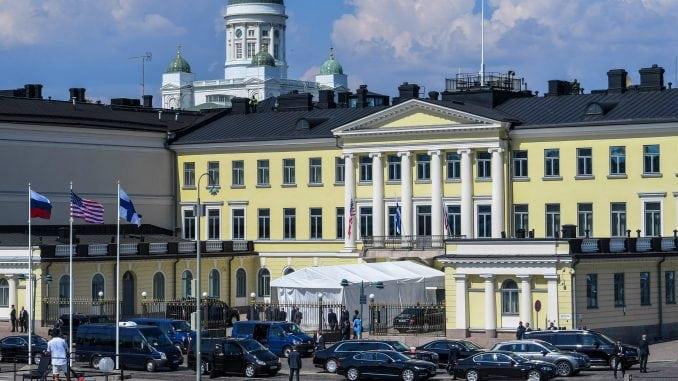 Putin i Tramp stigli u Helsinki 1