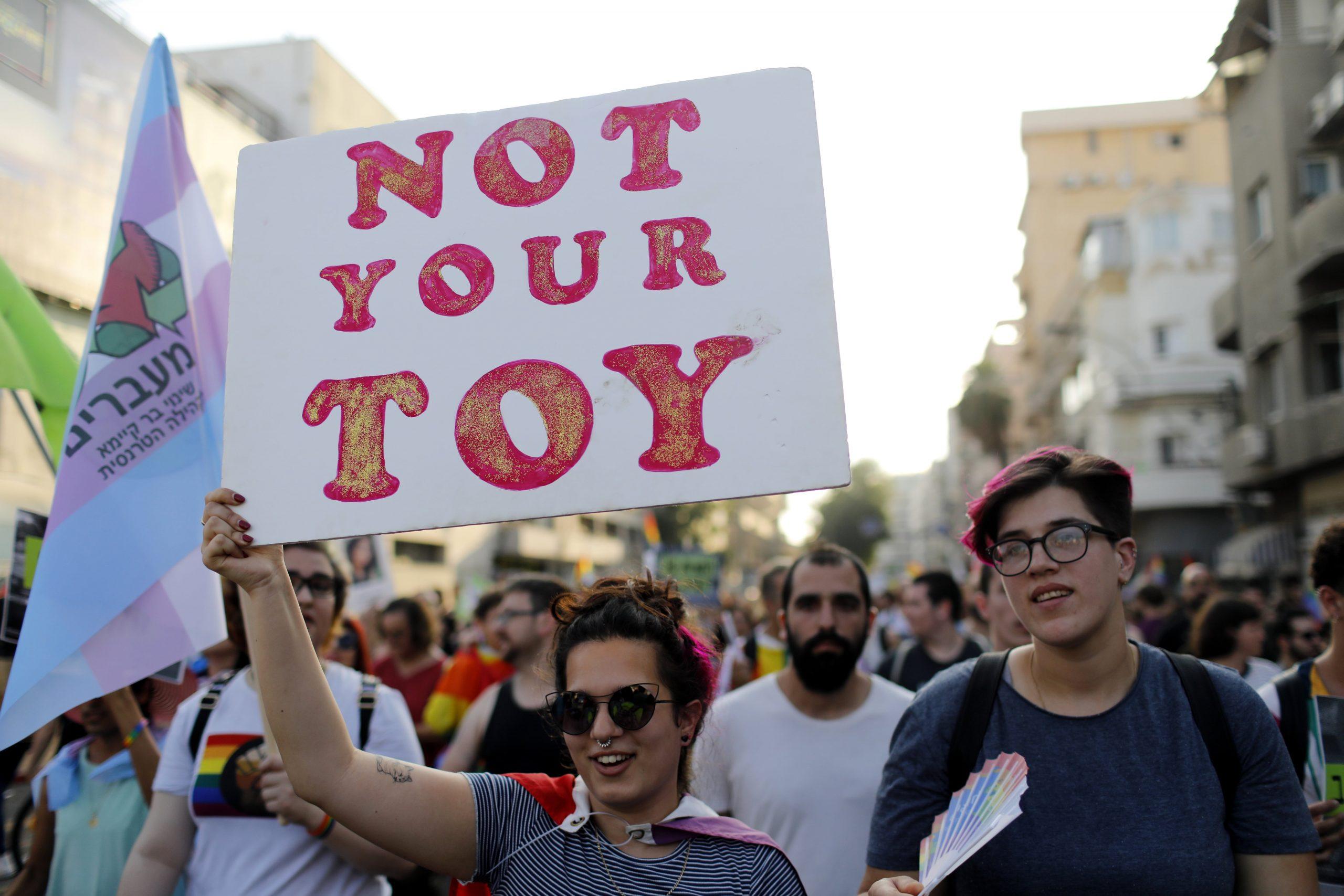 Izrael: Protest zbog odbacivanja LGBT zakona 1