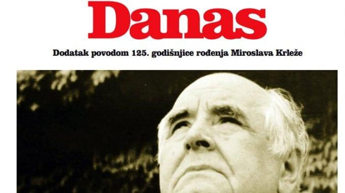 Danas - 125 godina od rođenja Miroslava Krleže (PDF) 1