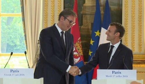 Vučić i Mondoloni o značaju Makronove posete Srbiji 13