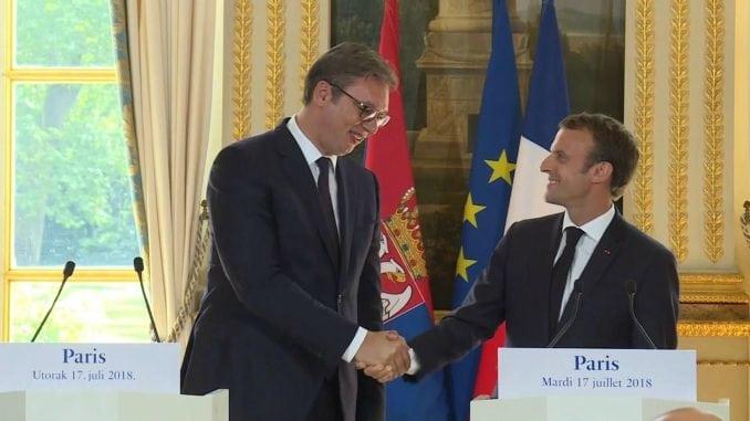 Vučić o poseti Makrona na Instagramu 4