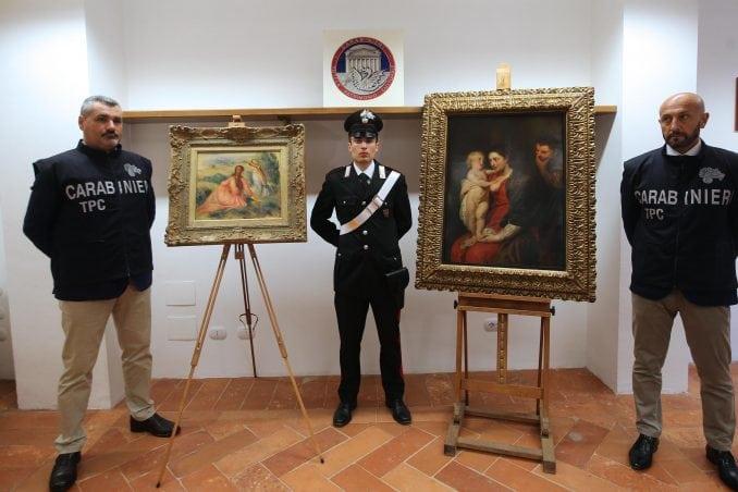 Pronađene ukradene slike Rubensa i Renoara, među uhapšenima Hrvat 2