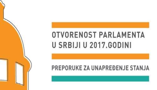 CRTA: Skupštine Srbije i Vojvodine beleže pad stepena otvorenosti 3