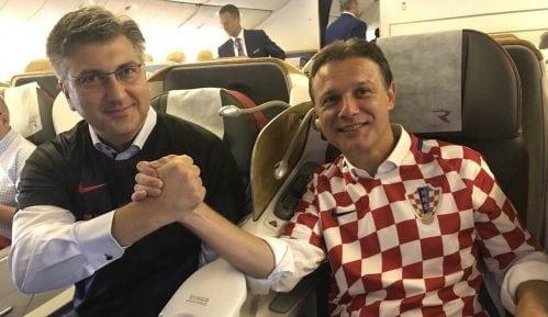 Iz Zagreba u Moskvu otputovalo 1.500 navijača, među njima i Plenković 2