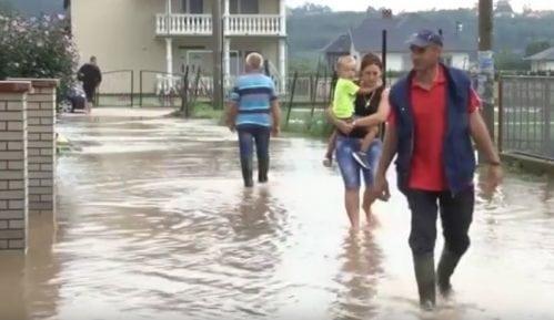 Vanredna situacija zbog poplava na delu teritorije grada Kraljeva 15