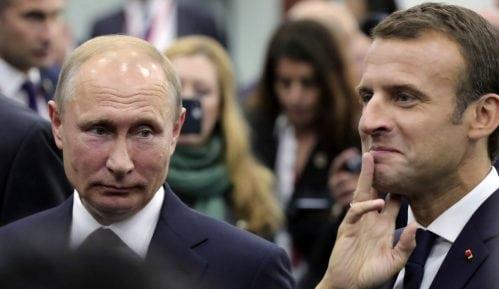 Putin i Makron danas o Siriji, Iranu i Ukrajni 7