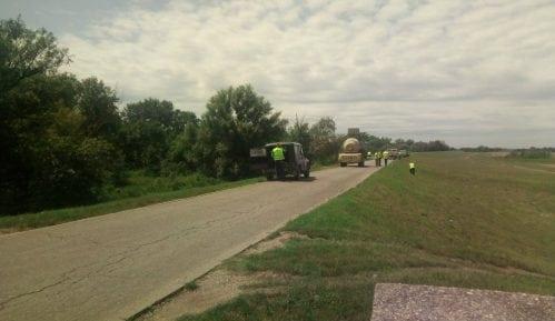Sekretarijat za inspekcijske poslove Grada Beograda zatvorio gradilišta na Savskom nasipu 1