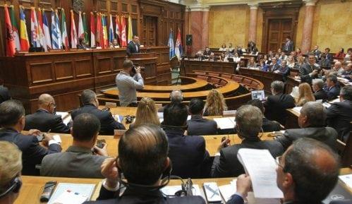 U utorak Skupština Srbije o poskupljenju putarine, komunalnoj miliciji, nauci, auto-putu 7