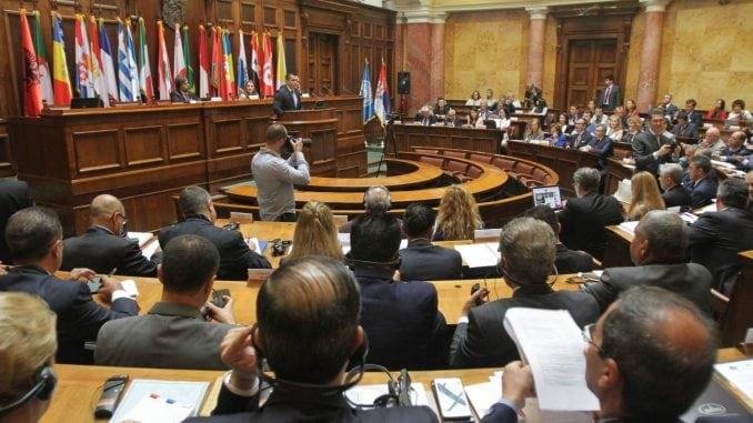 U utorak Skupština Srbije o poskupljenju putarine, komunalnoj miliciji, nauci, auto-putu 1