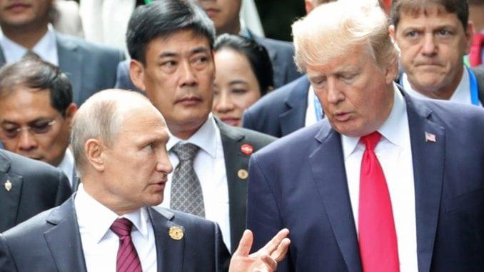 Putin i Tramp razgovarali o kontroli naoružanja 4