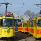 Sudar tramvaja i automobila u ulici Kraljice Marije 2