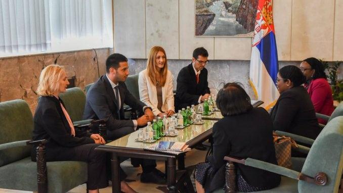Udovičić sa ministarkom Surinama o omladinskoj politici i sportu 1