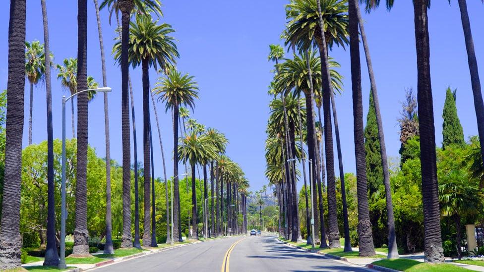 Put kroz Los Anđeles