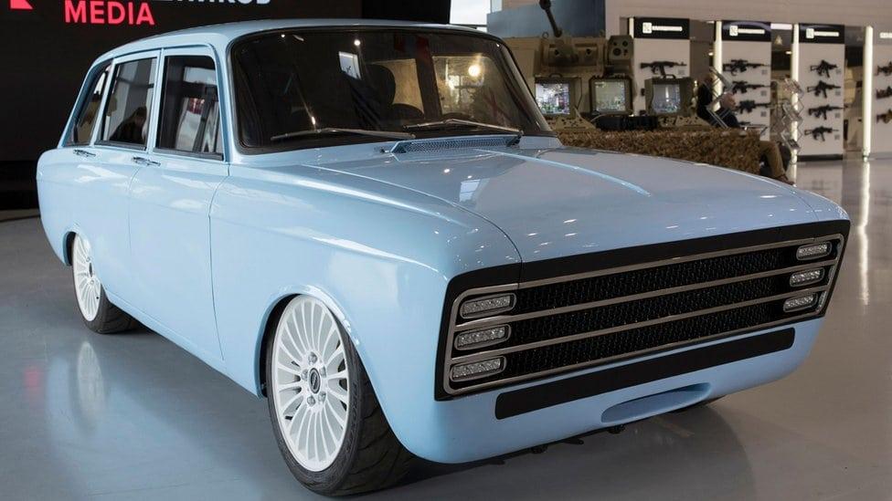 """Prototip električnog vozila kompanije """"Kalašnjikov"""""""