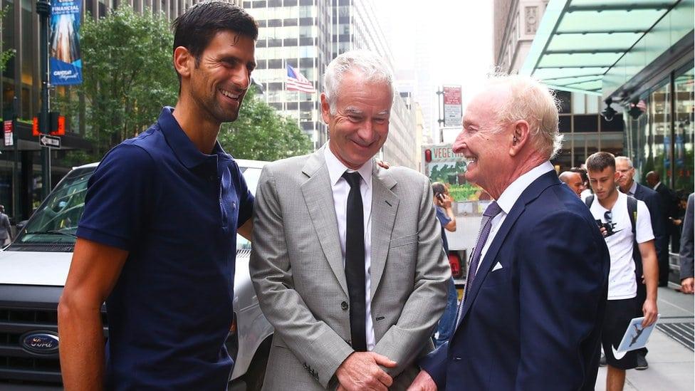 Đoković, Mekinro i Rod Lejver u Njujorku pred novi US Open