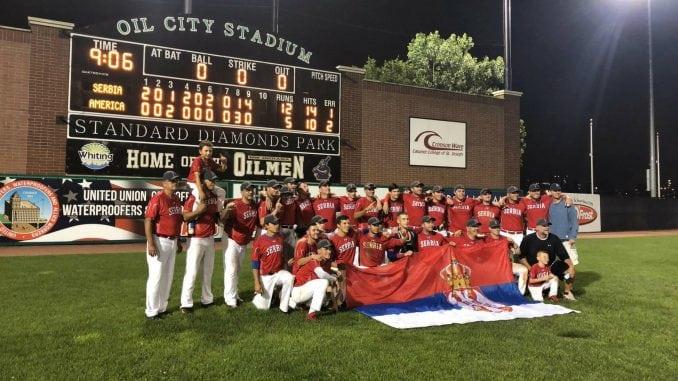 Bejzbol reprezentacija Srbije osvojila prestižni turnir u SAD 3