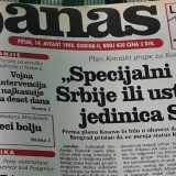 "Danas (1998): Kosovu nuđena ""autonomija plus"" 14"