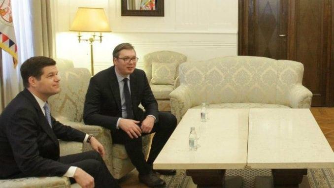Vučić i Mičel o evropskom putu Srbije i dijalogu Beograda i Prištine 4