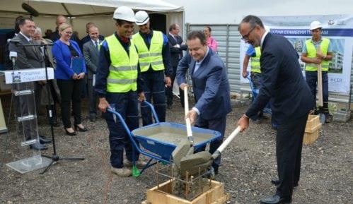 Kamen temeljac za izgradnju stanova izbegličkim porodicama 1